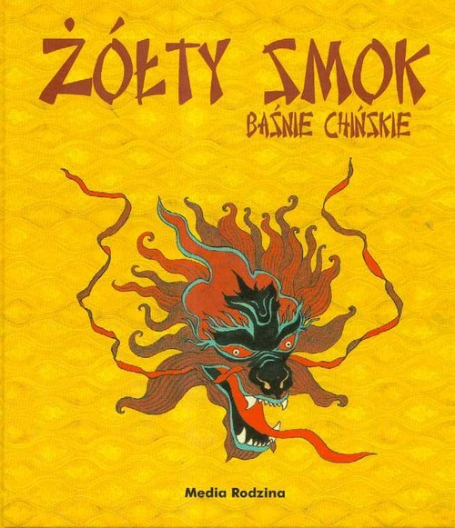 okładka Żółty smok. Baśnie chińskie, Książka |
