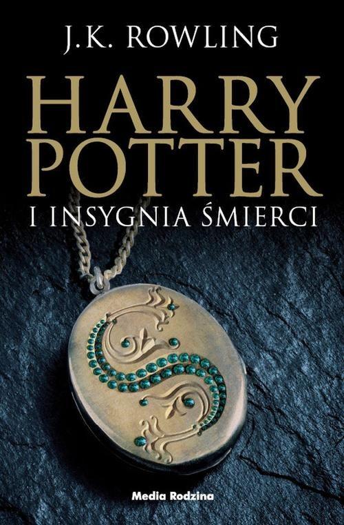 okładka Harry Potter. 7 Harry Potter i Insygnia Śmierci, Książka | Rowling J.K.