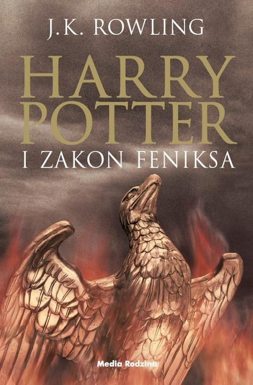 okładka Harry Potter 5. Harry Potter i Zakon Feniksa, Książka | Rowling J.K.