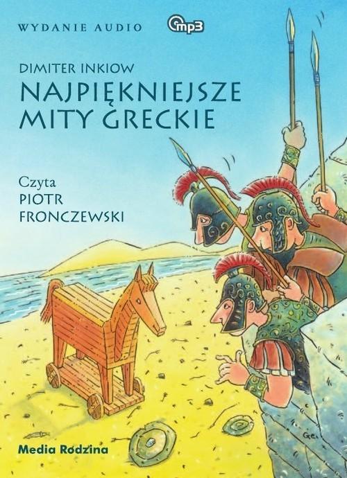 okładka Najpiękniejsze mity greckie. Audiobook, Książka | Inkiow Dimiter