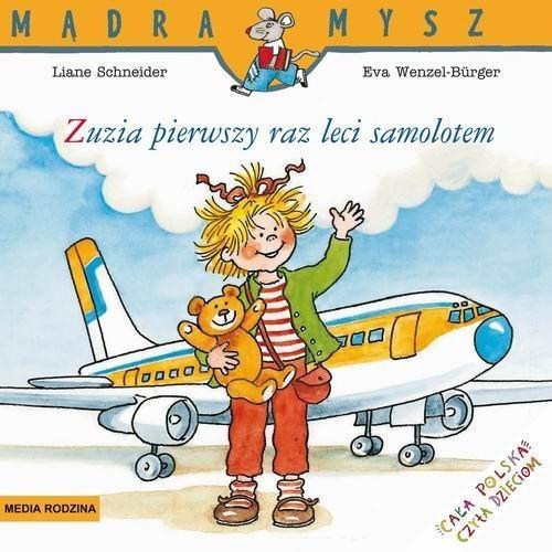 okładka Zuzia leci samolotem, Książka | Schneider Liane