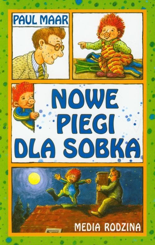 okładka Nowe piegi dla Sobka, Książka | Maar Paul