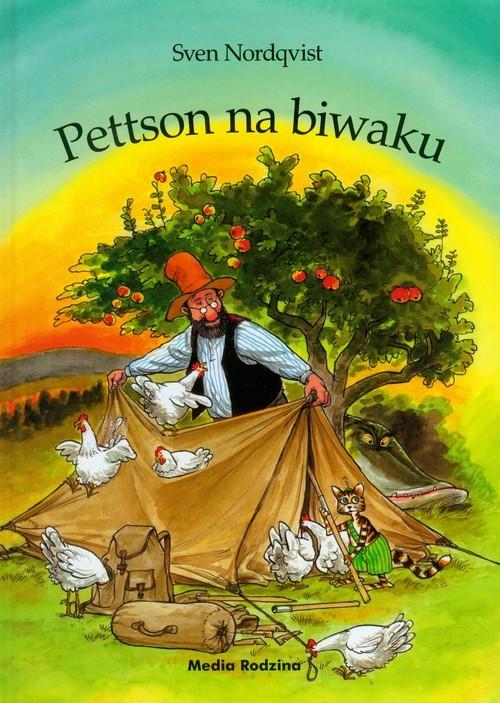 okładka Pettson na biwaku, Książka | Nordqvist Sven