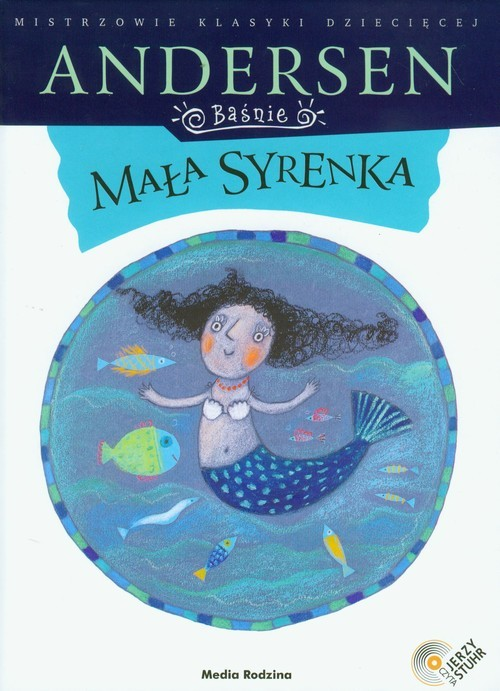 okładka Mała syrenka z płytą CD, Książka | Hans Christian Andersen