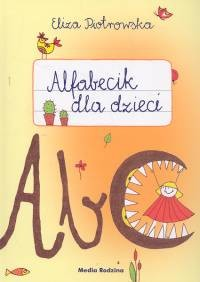 okładka Alfabecik dla dzieci, Książka | Eliza Piotrowska