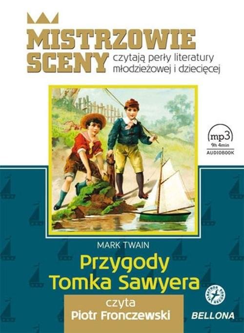 okładka Przygody Tomka Sawyera. Audiobook, Książka | Twain Mark