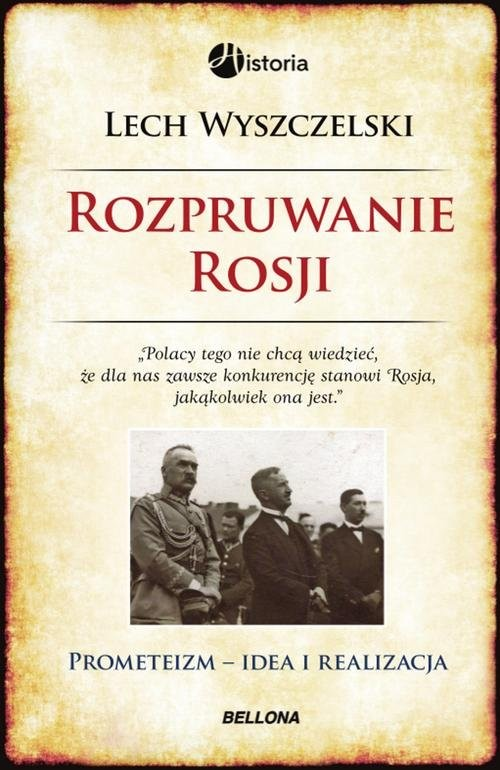 okładka Rozpruwanie Rosji, Książka   Wyszczelski Lech
