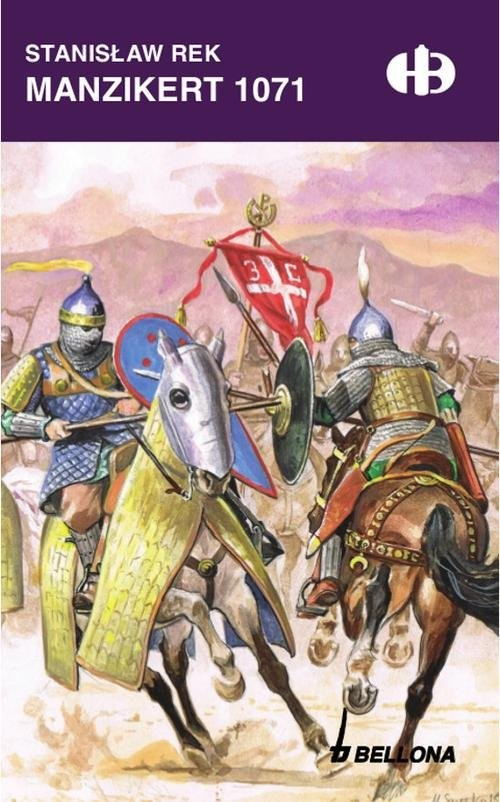 okładka Manzikert 1071, Książka | Rek Stanisław