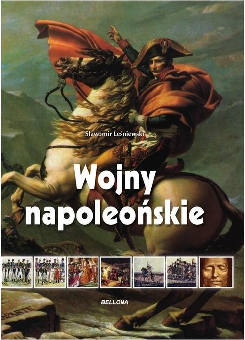 okładka Wojny napoleońskie, Książka | Leśniewski Sławomir