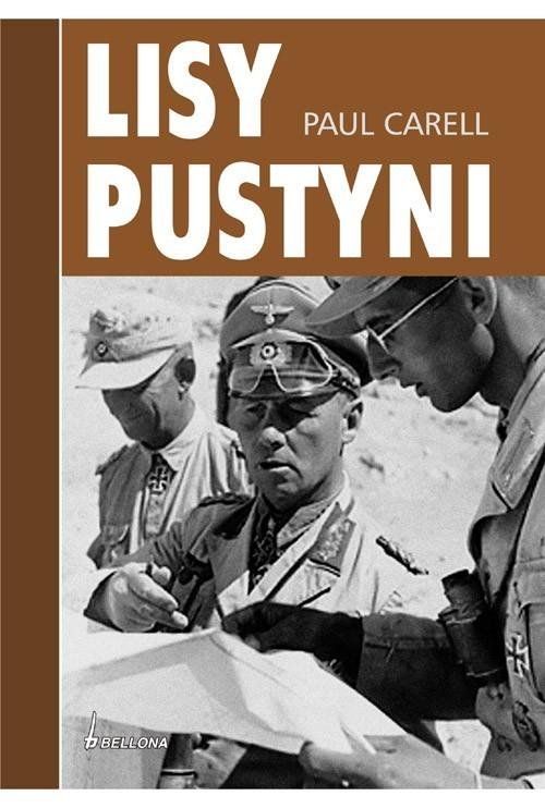 okładka Lisy pustyni, Książka | Carell Paul