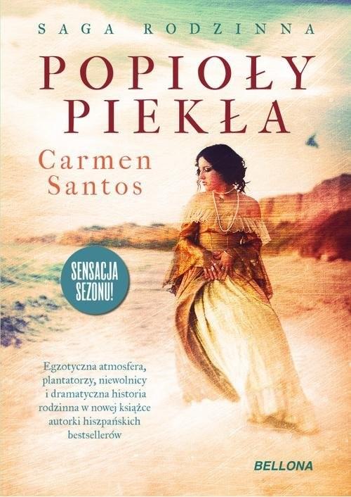 okładka Popioły piekła, Książka | Care Santos