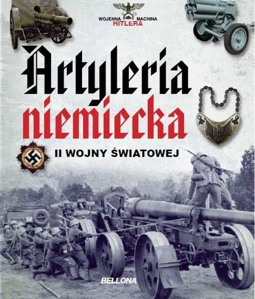 okładka Artyleria niemiecka II wojny światowej, Książka | Juan Vazquez Garcia
