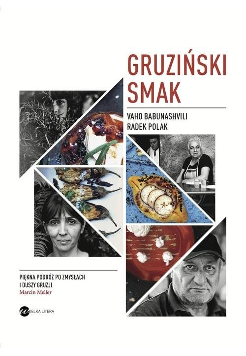 okładka Gruziński smak, Książka | Vaho Babunashvili, Radek Polak
