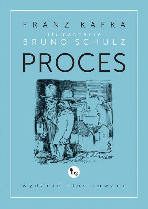 okładka Proces wydanie ilustrowane, Książka | Franz Kafka