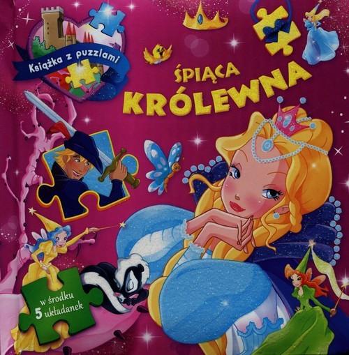 okładka Śpiąca królewna. Książka z puzzlami 5 układanekksiążka |  | Kaniewska Paulina