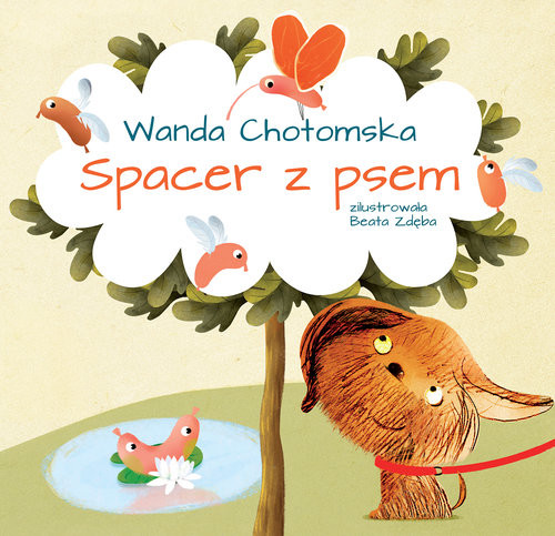 okładka Spacer z psem, Książka | Chotomska Wanda