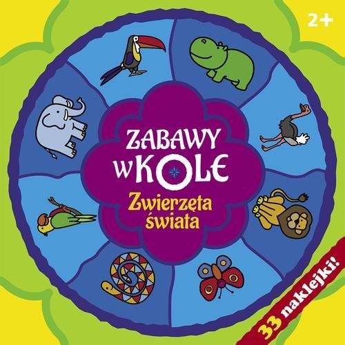 okładka Zabawy w kole. Zwierzęta świata, Książka | Bardos Krystyna