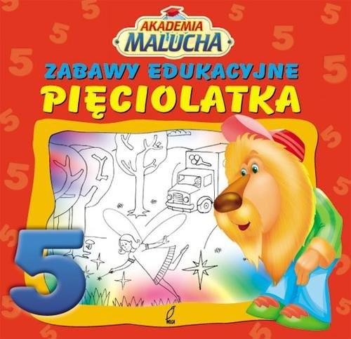 okładka Zabawy edukacyjne pięciolatkaksiążka |  |