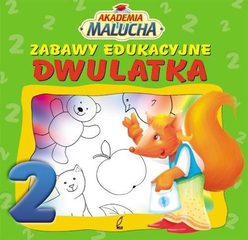 okładka Zabawy edukacyjne dwulatkaksiążka |  |