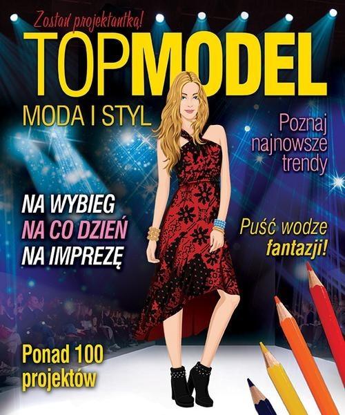 okładka Top model. Moda i styl, Książka |
