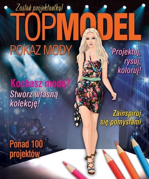 okładka Top model. Pokaz mody, Książka |