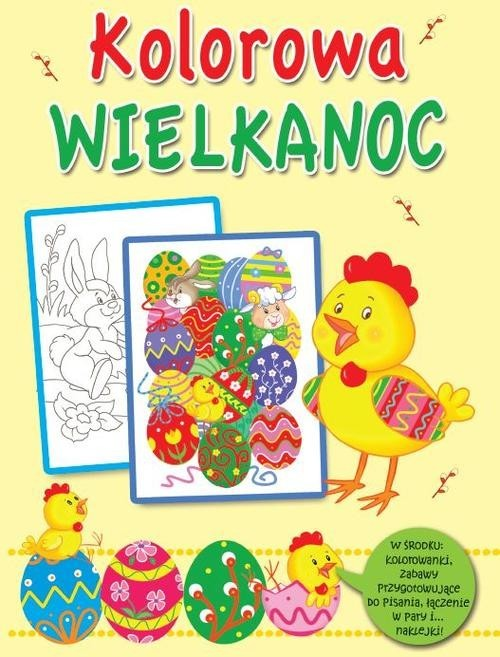 okładka Kolorowa Wielkanoc, Książka  