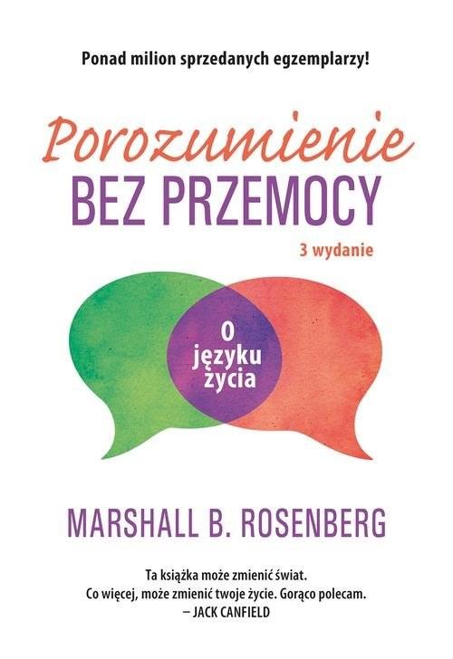 okładka Porozumienie bez przemocy. O języku życia, Książka | Rosenberg Marshall