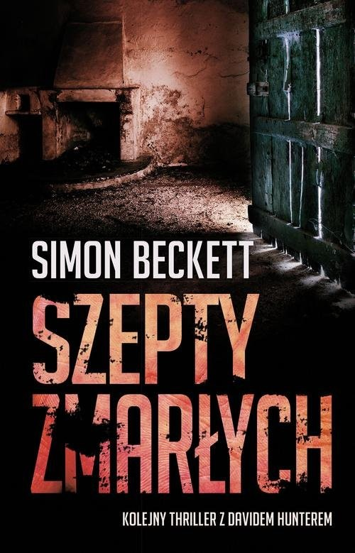 okładka Szepty zmarłych, Książka | Beckett Simon