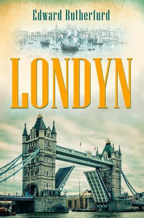 okładka Londyn, Książka | Rutherfurd Edward