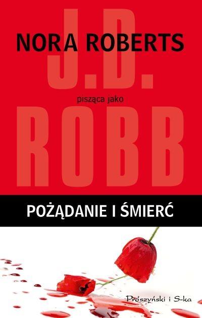 okładka Pożądanie i śmierć, Książka | Robb J.D