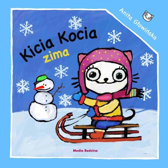 okładka Kicia Kocia. Zima, Książka | Głowińska Anita