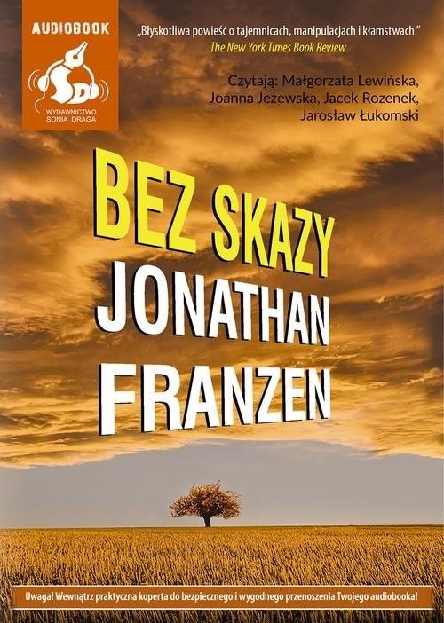 okładka Bez skazy, Książka | Jonathan Franzen