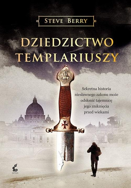okładka Dziedzictwo templariuszy, Książka | Steve Berry
