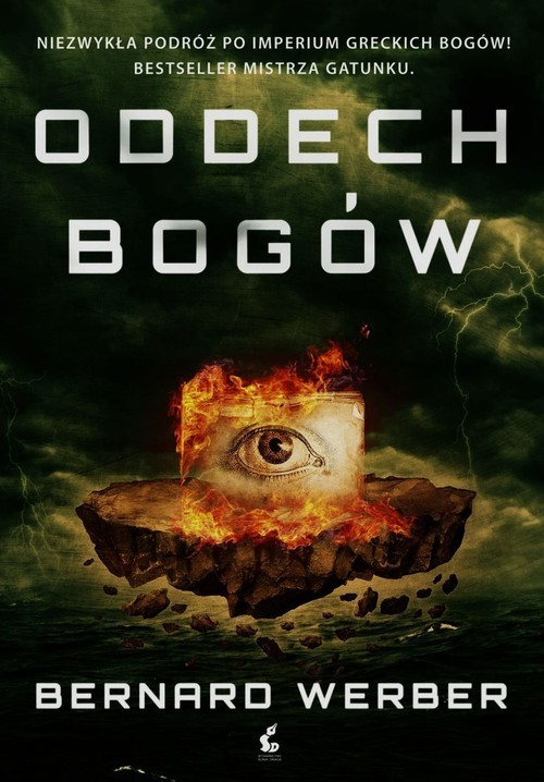 okładka Oddech bogów, Książka | Werber Bernard