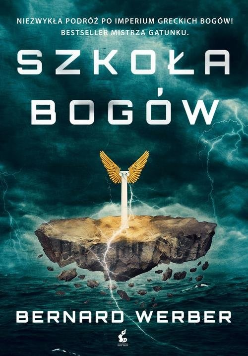 okładka Szkoła bogów, Książka | Werber Bernard