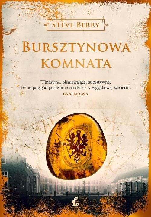okładka Bursztynowa Komnataksiążka      Berry Steve