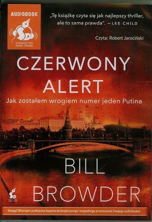 okładka Czerwony alert, Książka   Browder Bill