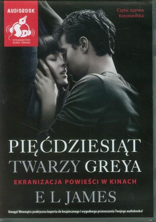 okładka Pięćdziesiąt twarzy Greya, Książka | EL James