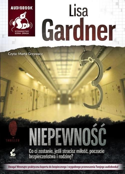 okładka Niepewność, Książka | Gardner Lisa