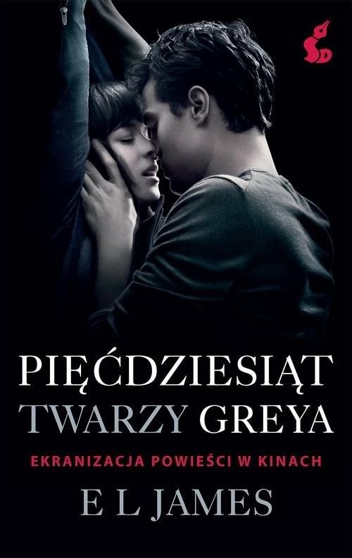 okładka Pięćdziesiąt twarzy Greya, Książka | E L james