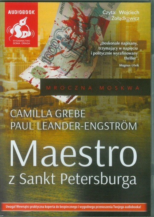 okładka Maestro z Sankt Petersburgaksiążka |  | Camilla Grebe, Paul Leander-Engström