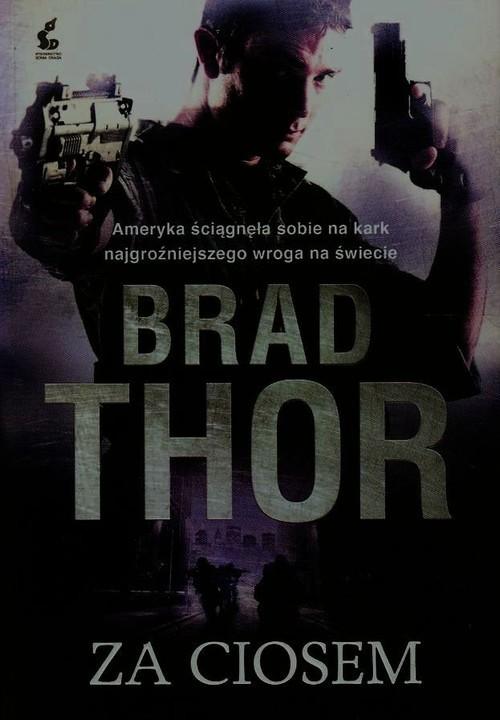 okładka Za ciosem, Książka | Thor Brad