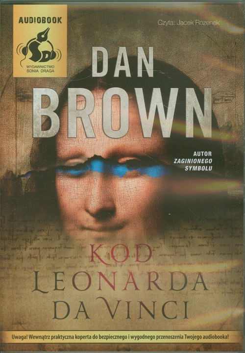 okładka Kod Leonarda da Vinci, Książka | Brown Dan