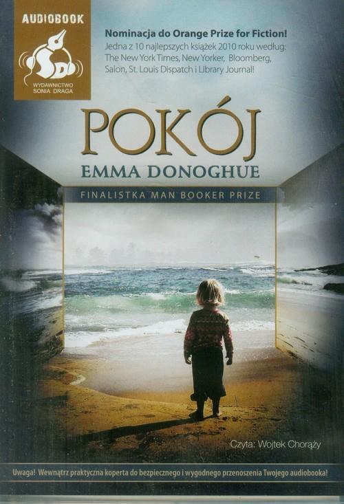 okładka Pokój, Książka | Donoghue Emma
