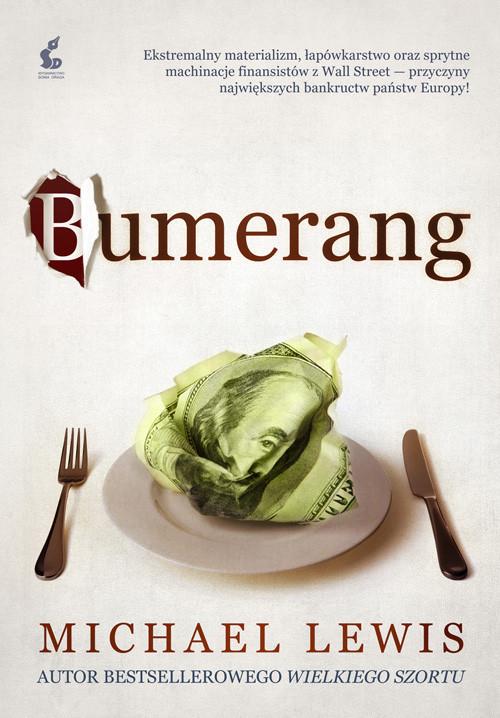 okładka Bumerang, Książka | Lewis Michael