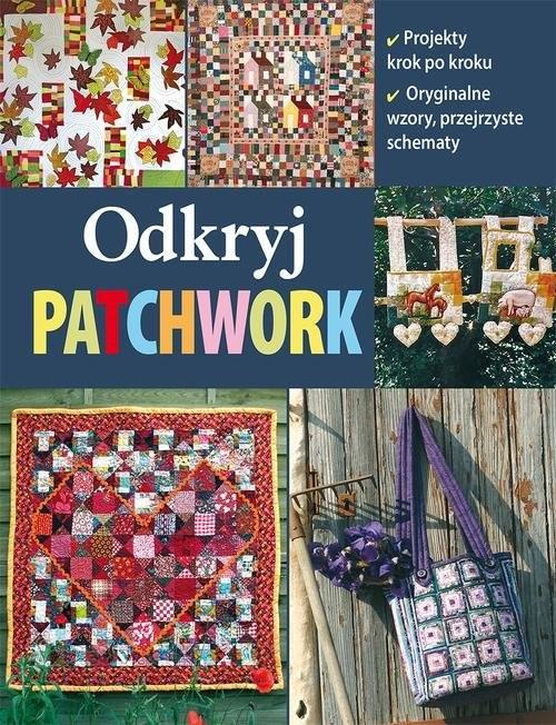 okładka Odkryj patchwork, Książka |