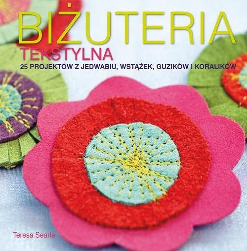 okładka Biżuteria tekstylna, Książka | Searle Teresa