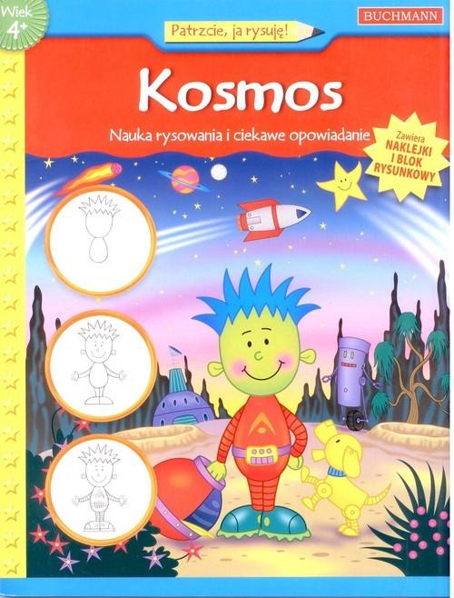 okładka Kosmos. Nauka rysowania i ciekawe opowiadanie, Książka | Winterberg Jenna