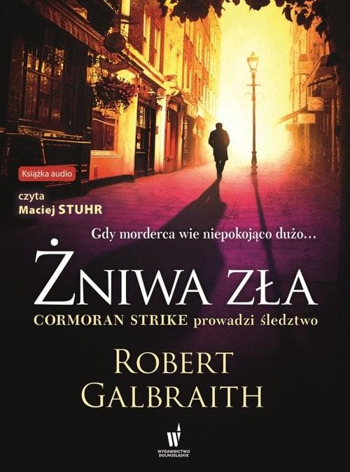 okładka Żniwa zła, Książka | Robert Galbraith