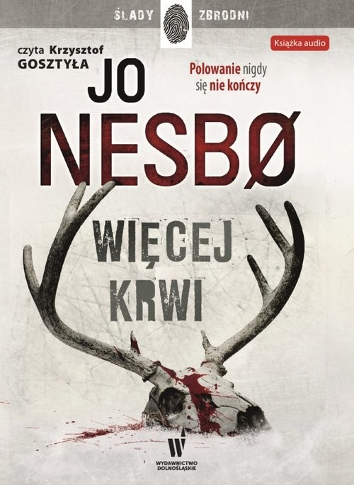 okładka Więcej krwiksiążka      Jo Nesbø